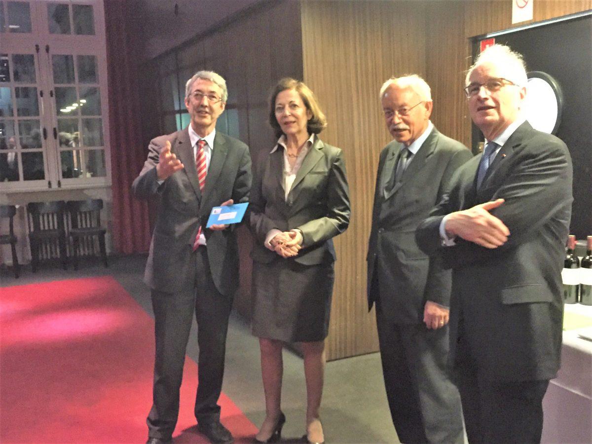 Remise du prix Lucien Matrat 2016 à Anne-Marie Idrac