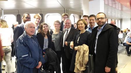 La Mission 2016 en Allemagne, accompagnée par Pierre Azoulay (Secrétaire géneral de la FNEP)